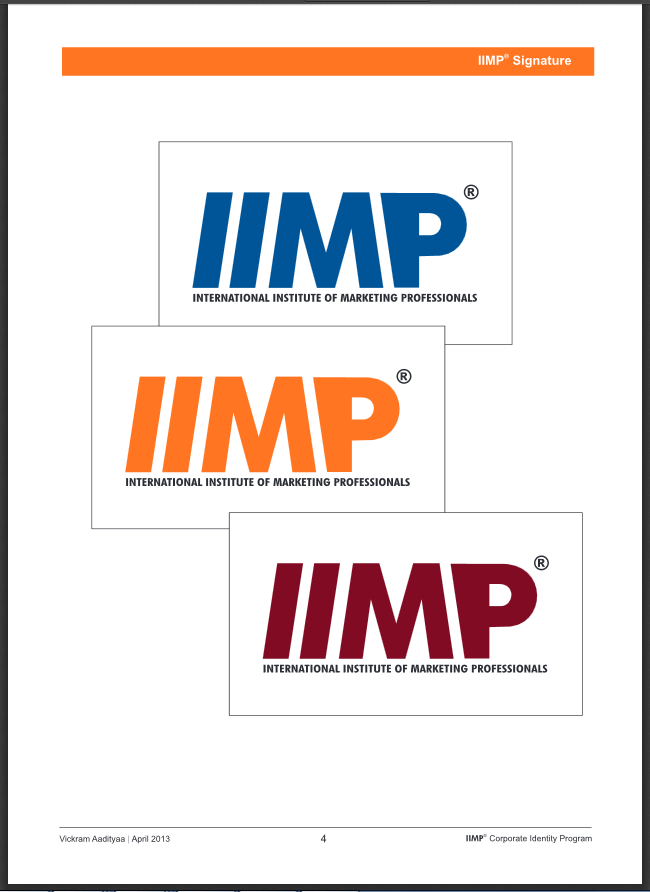 Iimp Corporate Identity Program